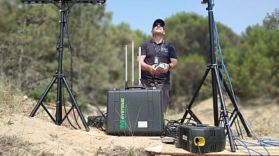 The anti-drone company uses an array of advanced technology to protect against enemy drones that can be used for intelligence-gathering, attacks, smuggling objects and weapons, and other types of air-space intrusion. Credit: MCTECH.