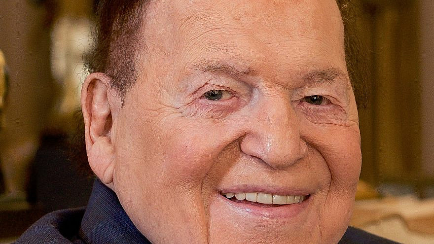 Sheldon Adelson. Photo by Jenna Leigh.