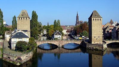 The Ponts Couverts in Strasbourg, France. Credit: 	Jonathan Martz via Wikimedia Commons.