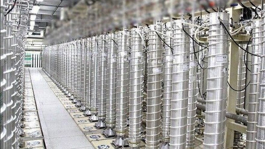 Uranium enrichment centrifuges at Iran's Natanz nuclear facility. Credit: Tehran Times.