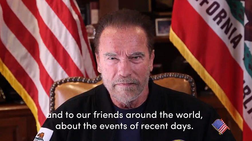 Former Calif. Gov. Arnold Schwarzenegger. Source: Screenshot.