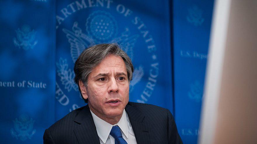 Antony Blinken in 2015 at the U.S. State Department. Credit: Perfect 5hot/Shutterstock.com