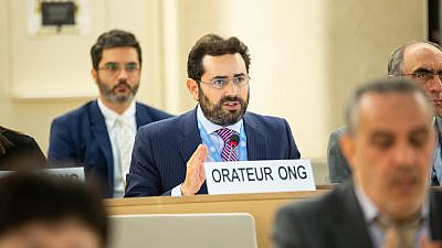 Hillel Neuer, executive director of UN Watch. Credit: Courtesy.