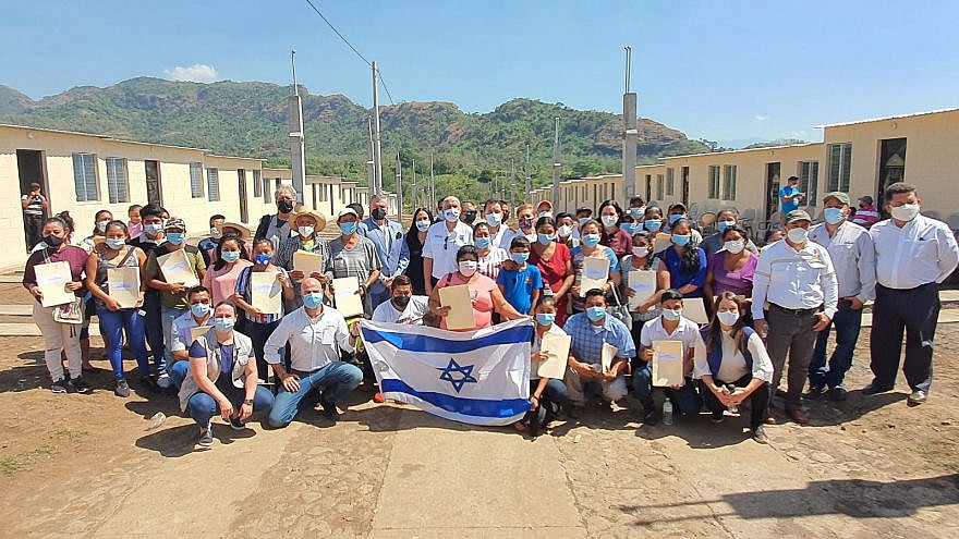 A view of the Israeli-built housing development in Guatemala. Credit: Israel Ministry of Foreign Affairs.
