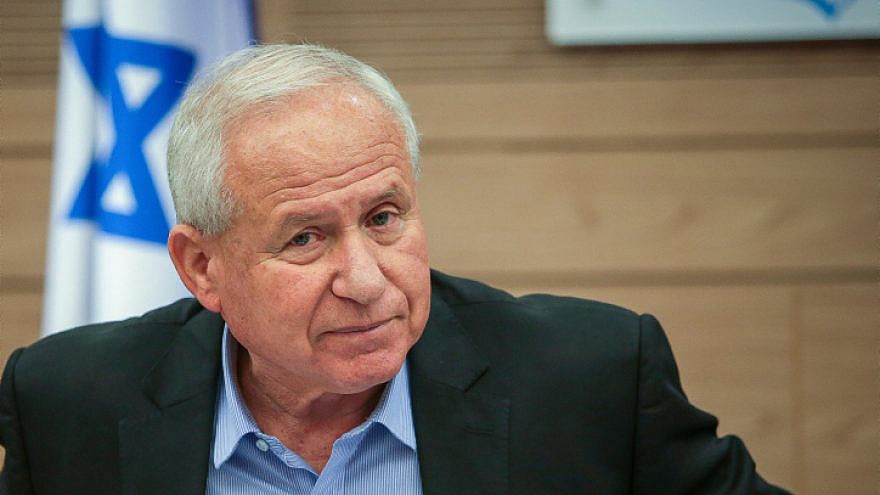 Knesset Defense and Foreign Affairs Committee chairman Avi Dichter, Aug. 13, 2019. Photo by Flash90.