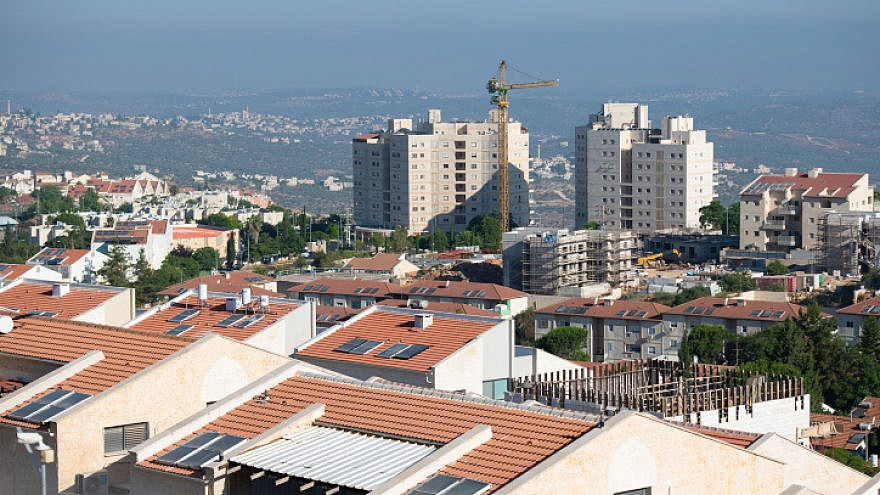View of the Jewish city of Ariel, in Samaria, on July 2, 2020. Photo by Sraya Diamant/Flash90