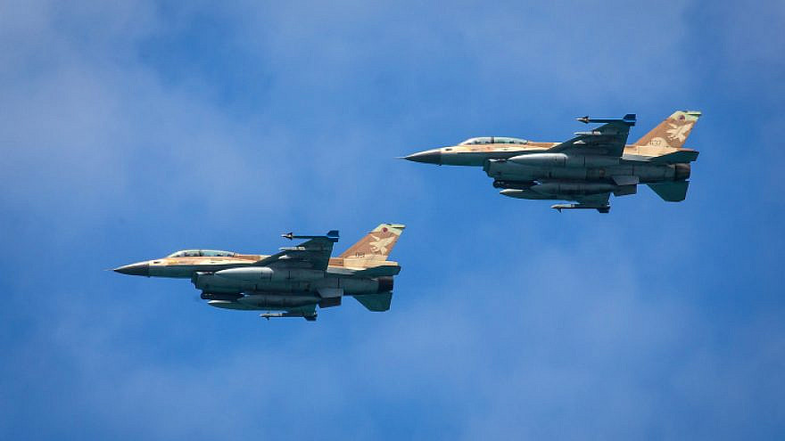 Israeli Air Force F-16 fighter jets, May 9, 2019. Photo by Moshe Shai/Flash90.
