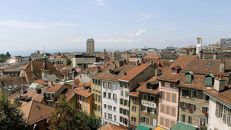 A view of Lausanne, Switzerland. Credit: Wikimedia Commons.