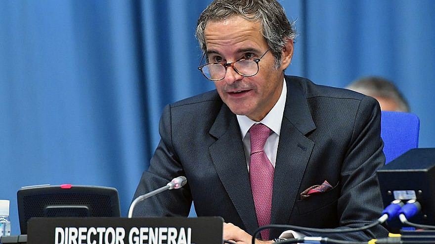 IAEA director general Rafael Grossi at the IAEA Board of Governors meeting in Vienna, Austria on Sept. 14, 2020. Credit: Wikimedia Commons/Dean Calma/ IAEA.