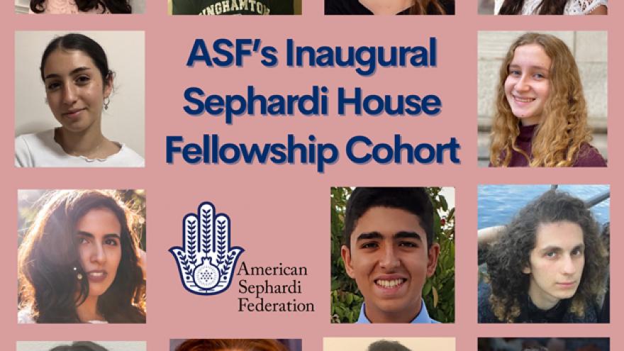 The ASF's Inaugural Sephardi House Fellowship Cohort