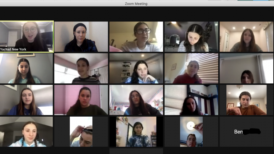 Nearly 40 teens met virtually for Yachad's training focused on making Jewish communal life more inclusive for individuals with disabilities.