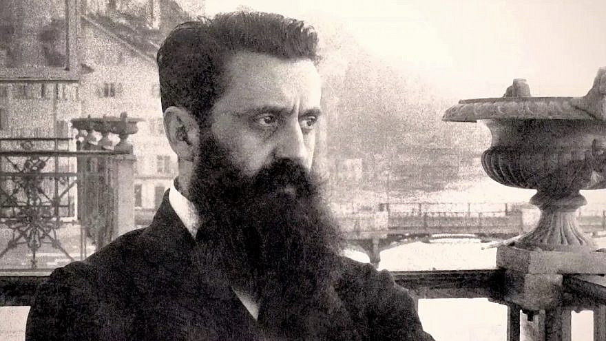 Austro-Hungarian journalist and founder of modern-day Zionism Theodor Herzl. Source: YouTube.