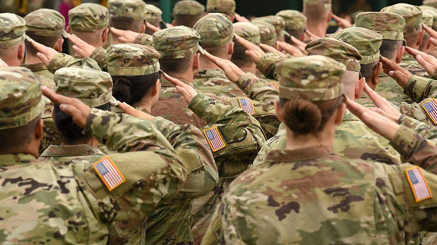 U.S. soldiers. Credit: Bumble Dee/Shutterstock.