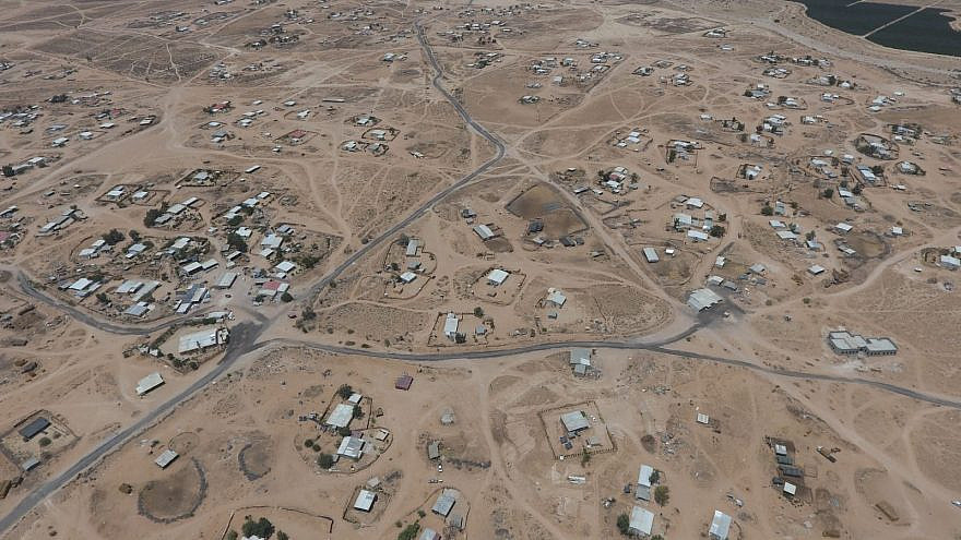 Ilegal structures cover thousands of dunams of public and private property in the Negev