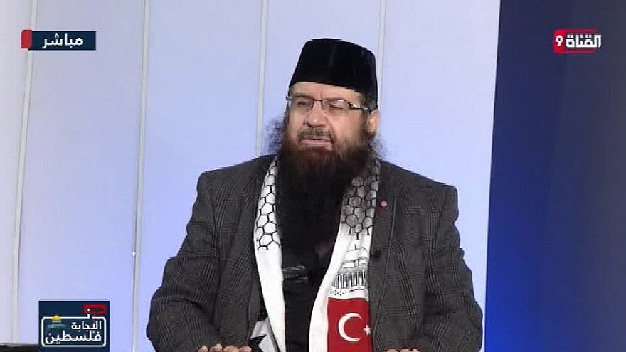 Mraweh Nassar, secretary-general of the Jerusalem committee of the International Union of Muslim Scholars. (MEMRI)