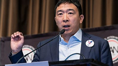 New York City mayoral candidate Andrew Yang in 2019. Credit: Lev Radin/Shutterstock.
