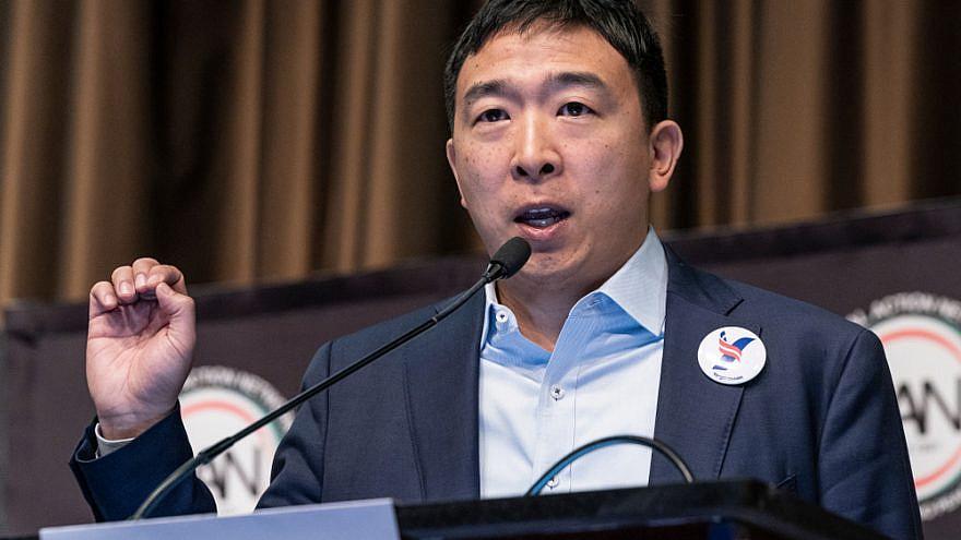Andrew Yang in 2019. Credit: Lev Radin/Shutterstock.