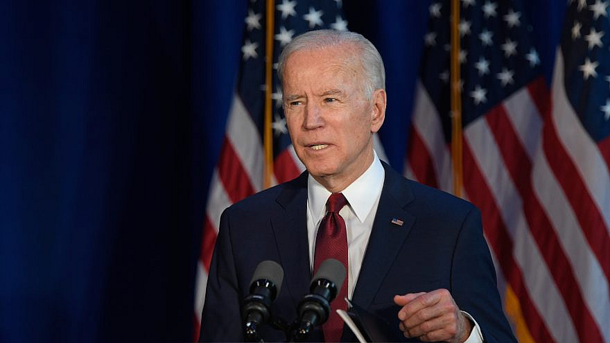 Then-President-elect Joe Biden in New York City on Jan. 7, 2020. Credit: Ron Adar/Shutterstock.