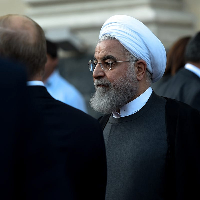 Iranian President Hassan Rouhani. Credit: Asatur Yesayants/Shutterstock.