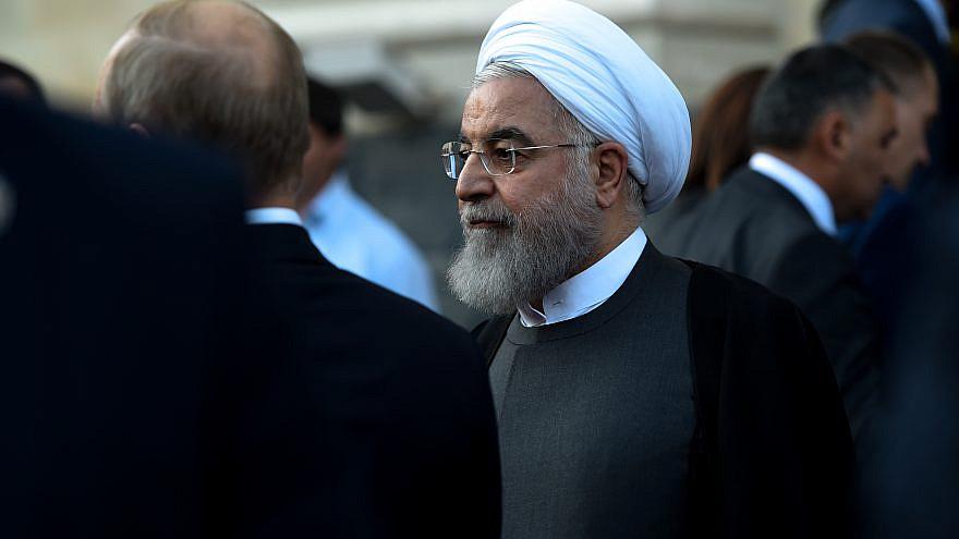 Iranian President Hassan Rouhani. Credit: Asatur Yesayants/Shutterstock.