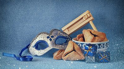 This year's pandemic Purim is shaping up to be a somewhat subdued version of the traditional festivities. Credit: tomertu/Shutterstock.