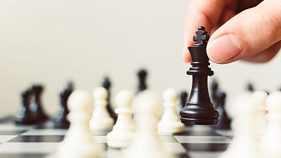 An illustration of a game of chess. Credit: Monster Ztudio/Shutterstock.
