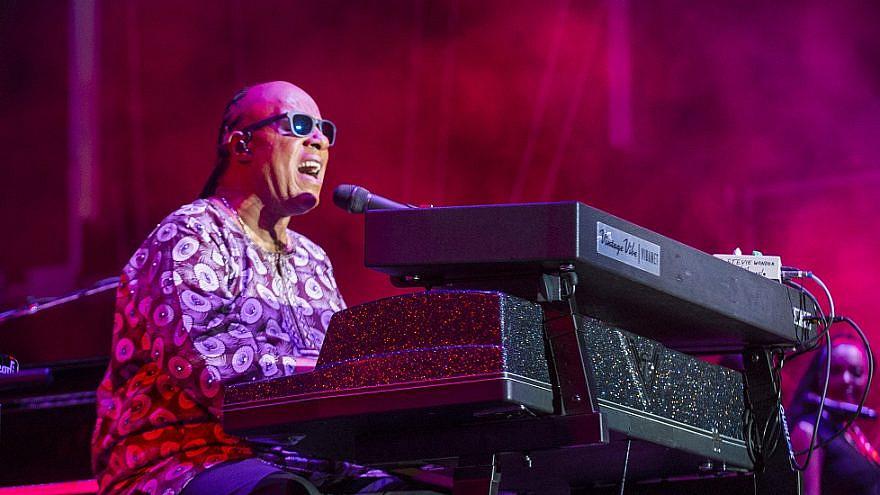 Singer-songwriter Stevie Wonder in 2015. Credit: Kobby Dagan/Shutterstock.