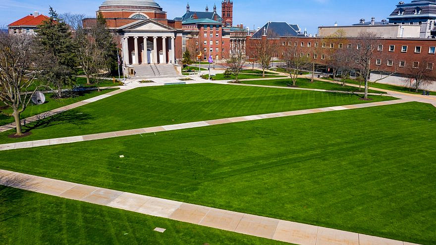Syracuse University in Syracuse, N.Y. Credit: KpertC/Shutterstock.