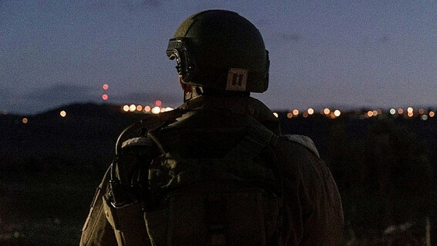 Illustrative photo of an Israel Defense Forces soldier. Credit: IDF.