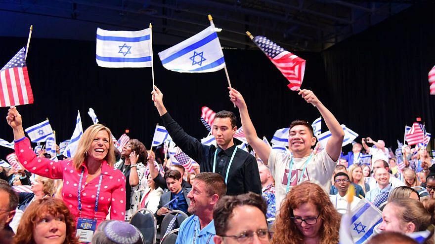 """Supporters of CUFI at the 2019 """"Night to Honor Israel"""" at Pastor John Hagee's Cornerstone Church in San Antonio, Texas. Source: CUFI via Facebook."""