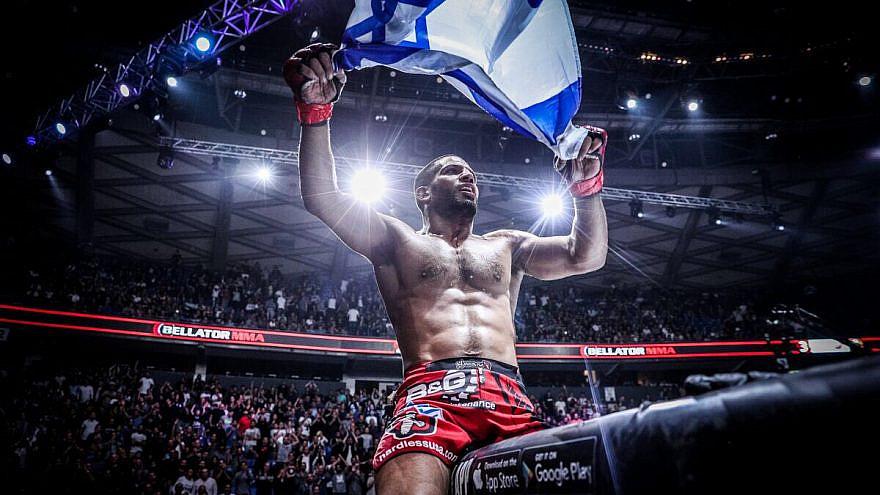Israeli MMA fighter Noad Lahat. Source: Twitter.