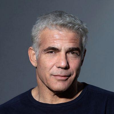 Yair Lapid. Photo by Yossi Aloni/Flash90.