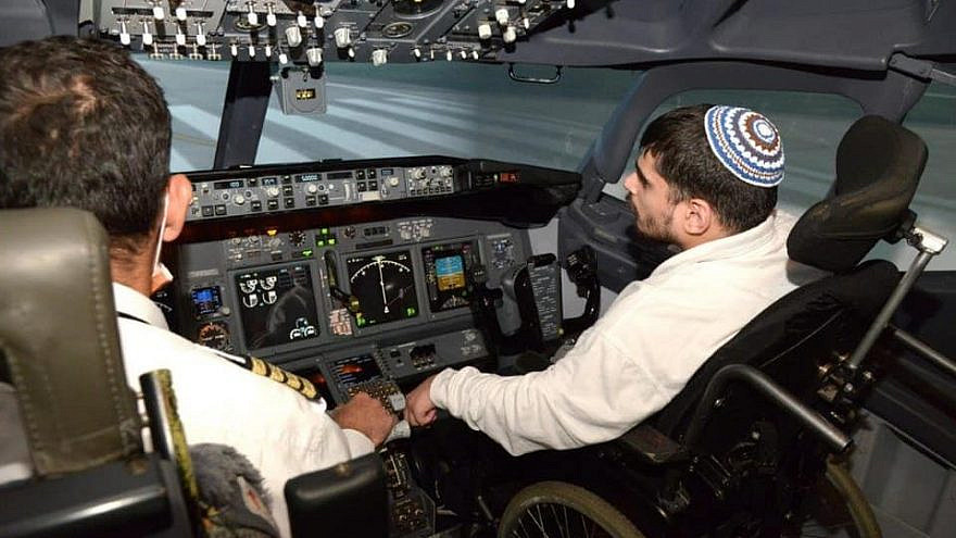 Experiencing what it's like to fly a 737