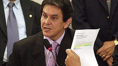 Brazilian Labor Party (PTB) national president Roberto Jefferson. Credit: Wikimedia Commons.
