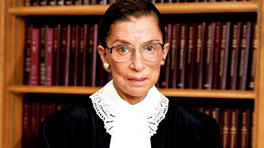 The late U.S. Supreme Court Justice Ruth Bader Ginsburg, circa 2006. Credit: Steve Petteway by Wikimedia Commons.