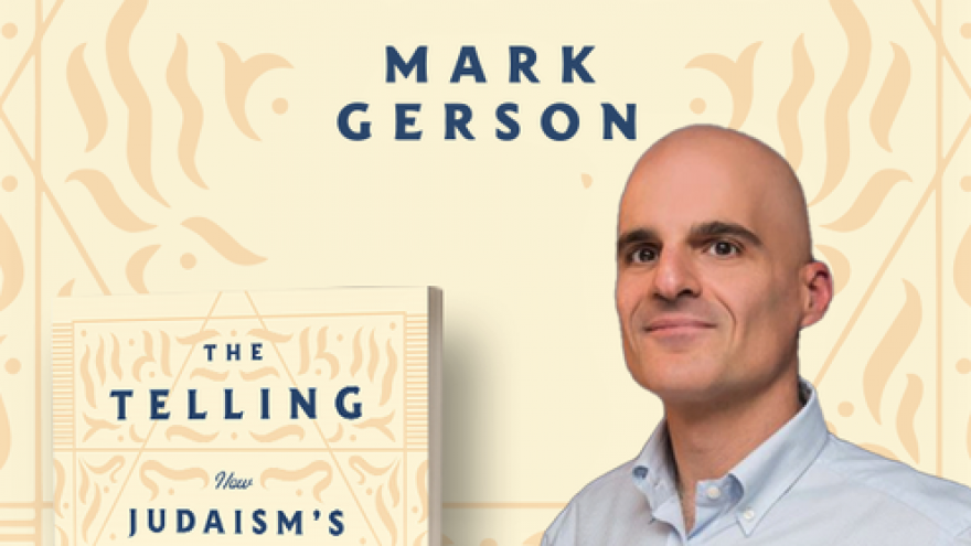 """""""The Telling: How Judaism's Essential Book Reveals the Meaning of Life"""" by Mark Gerson. Source: Screenshot."""