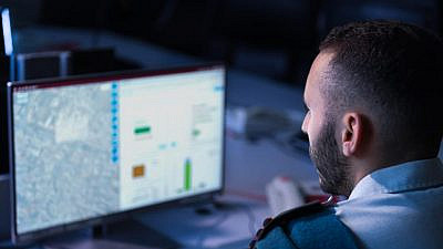 """Flagship projects include the """"Operational Internet,"""" which is designed to act like the civilian Internet and turn every component in the military into a partner that can team up with another partner. Credit: IDF Spokesperson's Unit."""