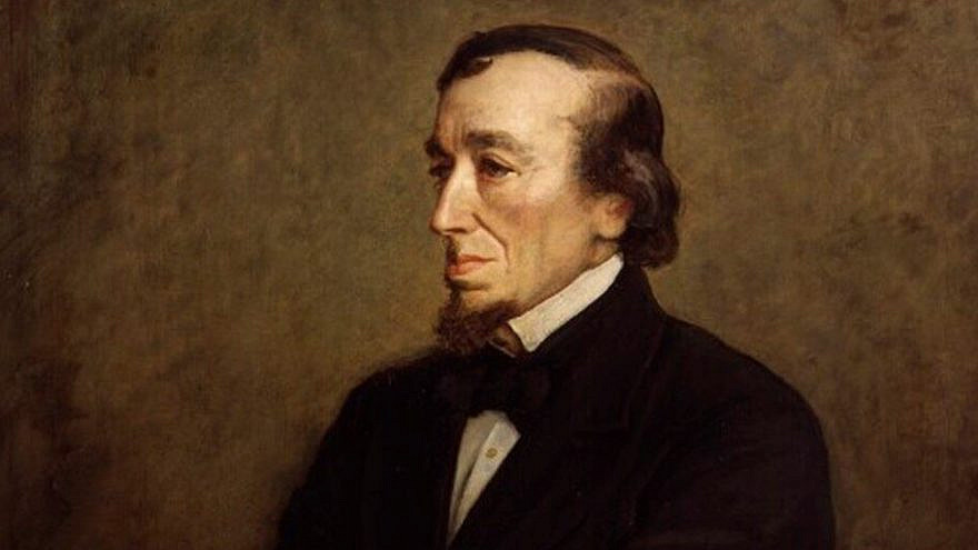 British Prime Minister Benjamin Disraeli, who was born Jewish but later converted to Christianity. Credit: Wikimedia Commons.