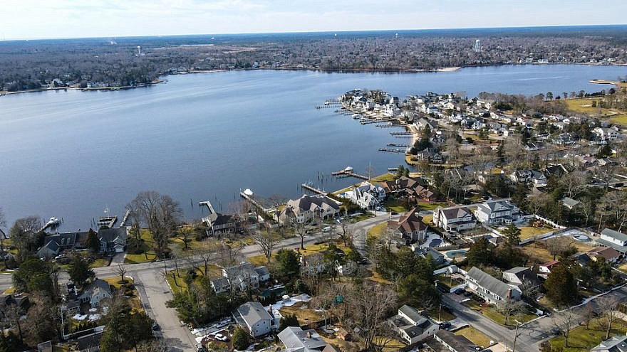 Aerial view of Toms River, N.J. Credit: Tom Aballo/Shutterstock.