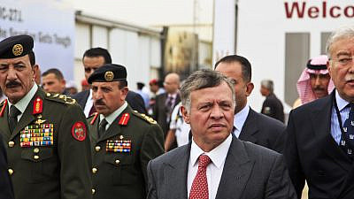 Abdullah II of Jordan at SOFEX conference opening in Amman, May 6, 2014. Credit: Ahmad A. Atwah/Shutterstock.