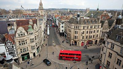 A view of Oxford, England. Credit: Skowronek/Shutterstock.
