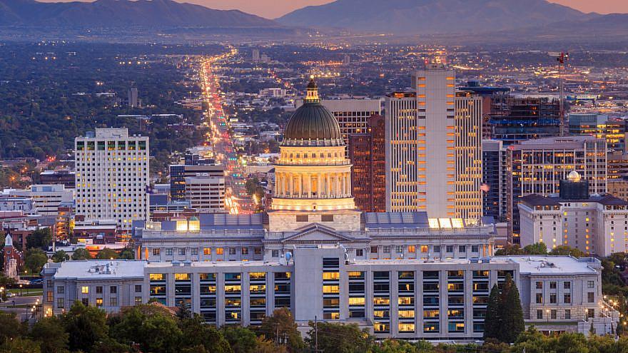 The Utah State Capitol in Salt Lake City. Credit: f11photo/Shutterstock.
