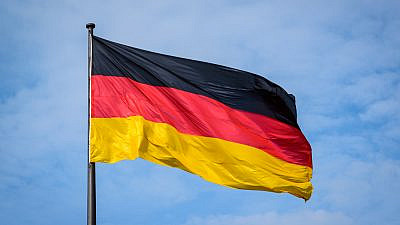A German flag. Credit: AR Pictures/Shutterstock.