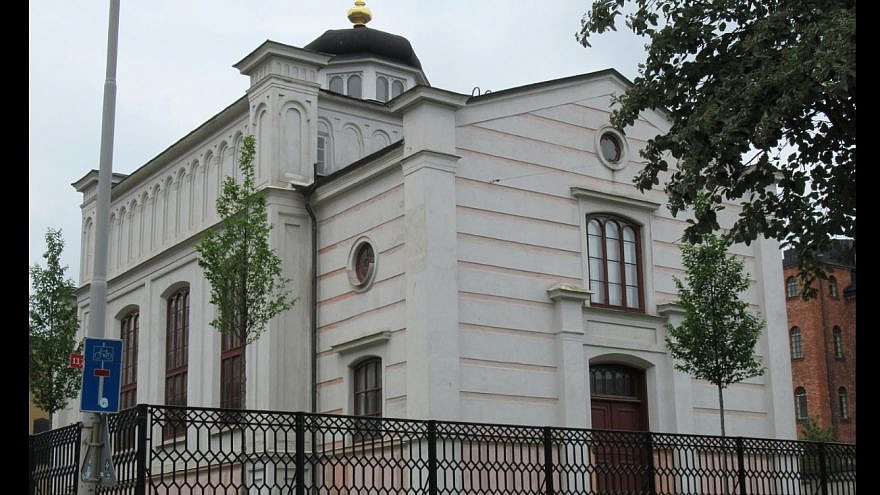 A synagogue in the Swedish town of Norrkoping. Source: Screenshot via Google Maps.