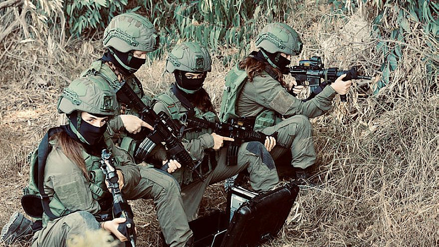 Soldiers in the IDF Military Intelligence's combat unit. Photo: Oren Cohen.
