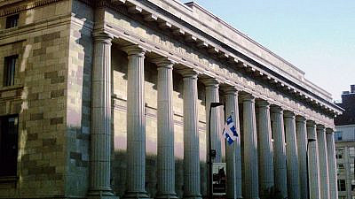 Quebec Court of Appeal building on Notre-Dame Street in Old Montreal. Credit: Wikimedia Commons.