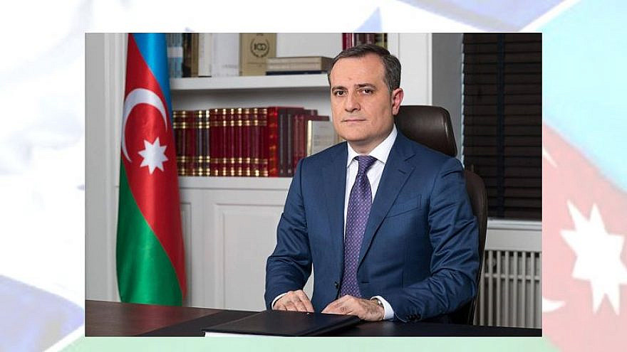 Azerbaijani Foreign Minister Jeyhun Bayramov. Credit: Azerbaijani Foreign Ministry.
