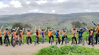 Geerz is a therapeutic, mountain-biking program in Israel with a curriculum designed to help kids struggling with behavior problems, ADD/ADHD, anger management, family dysfunction, adolescent eating disorders, and other psychological and physical issues. Credit: Courtesy.