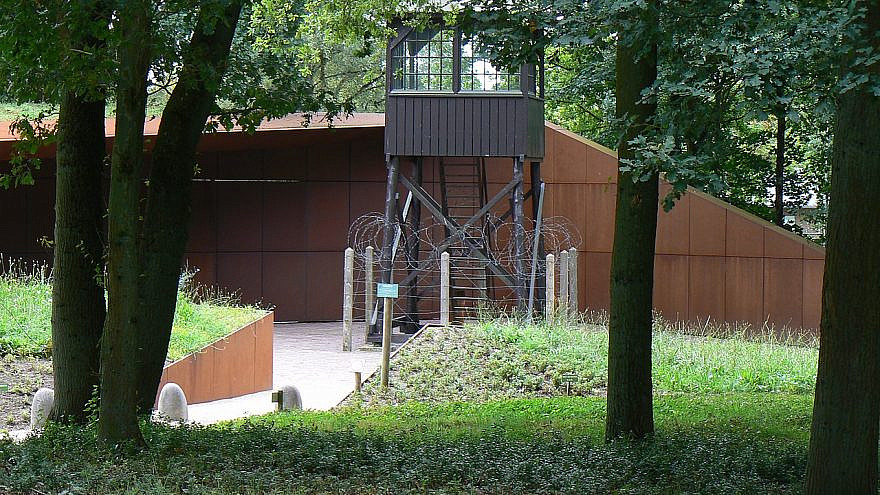 National Monument Camp Amersfoort. Credit: Wikimedia Commons.