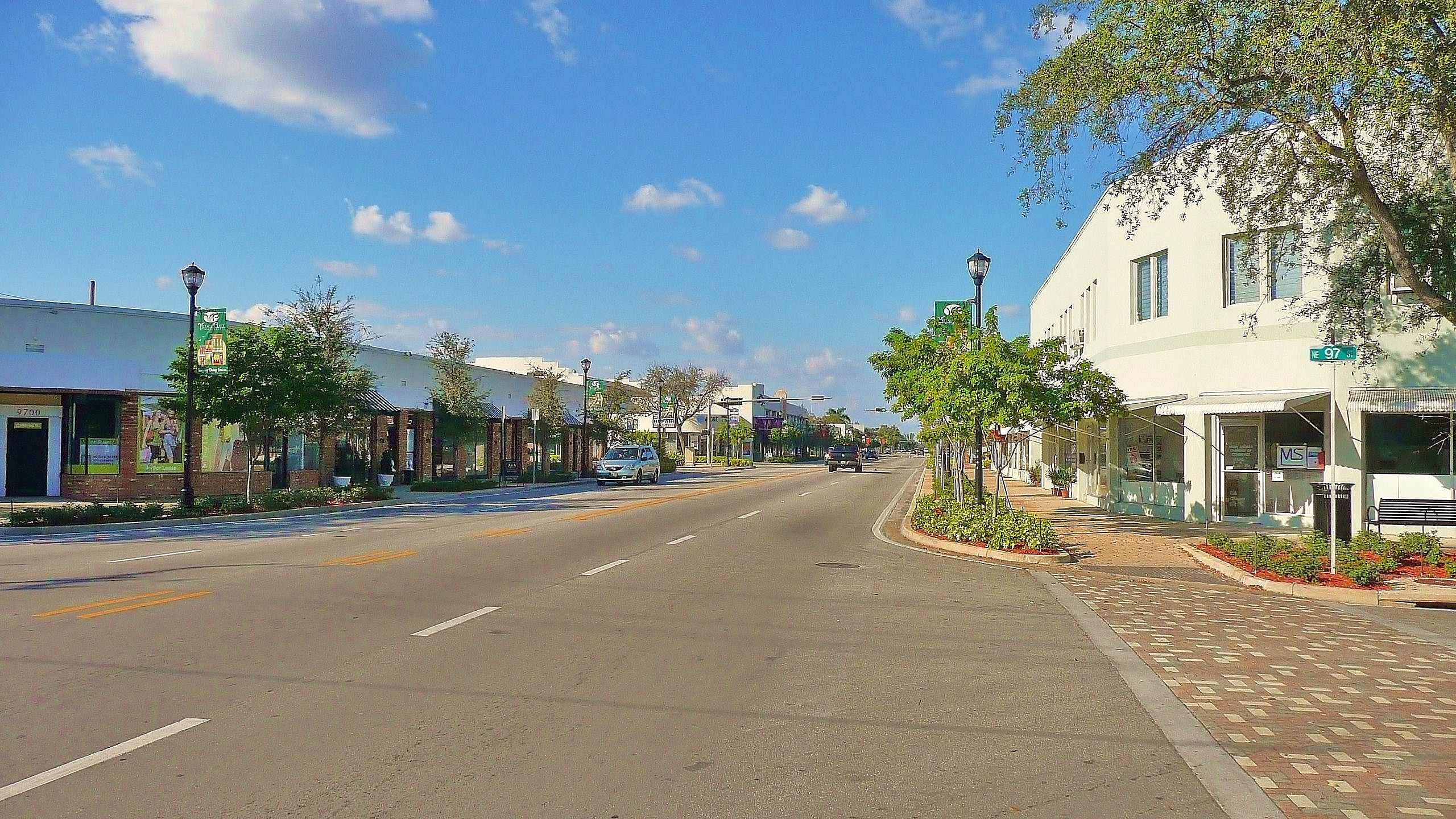 Downtown area of Miami Shores, Fla. Credit: Marc Averette via Wikimedia Commons.